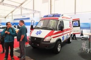 Автомобили скорой помощи ПромТех Самотлор НН на выставке RETTmobil 2014 - 3