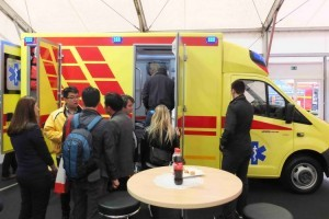Автомобили скорой помощи ПромТех Самотлор НН на выставке RETTmobil 2014 - 5