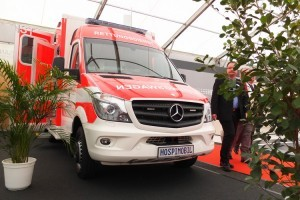 Автомобили скорой помощи ПромТех Самотлор НН на выставке RETTmobil 2014 - 6