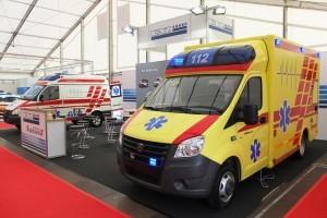 Автомобили скорой помощи ПромТех Самотлор НН на выставке RETTmobil 2014 - 7