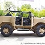 Бронеавтомобиль Торос командирский на выставке Промышленный дизайн оборонной продукции - 3
