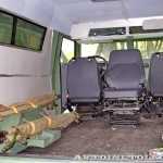 Бронеавтомобиль Торос санитарный на выставке Промышленный дизайн оборонной продукции - 14