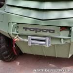 Бронеавтомобиль Торос санитарный на выставке Промышленный дизайн оборонной продукции - 3