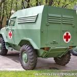 Бронеавтомобиль Торос санитарный на выставке Промышленный дизайн оборонной продукции - 5
