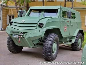 Бронеавтомобиль Торос базовый на выставке Промышленный дизайн оборонной продукции - 7
