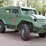 Бронеавтомобиль Торос базовый на выставке Промышленный дизайн оборонной продукции - 8