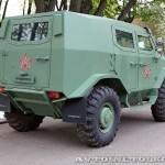 Бронеавтомобиль Торос базовый на выставке Промышленный дизайн оборонной продукции - 10