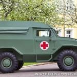Бронеавтомобиль Торос санитарный на выставке Промышленный дизайн оборонной продукции - 9