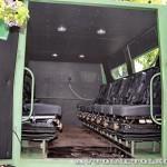 Бронированный автомобиль Колун 6х6 с закрытым 16-местным кузовом на выставке Промышленный дизайн оборонной продукции - 14