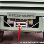 Бронированный автомобиль Колун 6х6 с закрытым 16-местным кузовом на выставке Промышленный дизайн оборонной продукции - 6