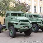 Грузовой бронированный автомобиль Колун 4х4 на выставке Промышленный дизайн оборонной продукции - 3