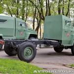 Грузовой бронированный автомобиль Колун 4х4 на выставке Промышленный дизайн оборонной продукции - 4