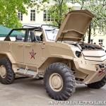 Бронеавтомобиль Торос командирский на выставке Промышленный дизайн оборонной продукции - 8