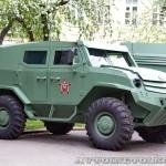 Бронеавтомобиль Торос базовый на выставке Промышленный дизайн оборонной продукции - 11
