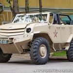 Бронеавтомобиль Торос командирский на выставке Промышленный дизайн оборонной продукции - 34