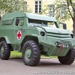 Бронеавтомобиль Торос санитарный на выставке Промышленный дизайн оборонной продукции - 10