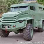 Бронированный автомобиль Колун 6х6 с закрытым 16-местным кузовом на выставке Промышленный дизайн оборонной продукции - 10