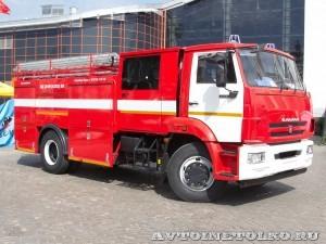 пожарная автоцистера АЦ 3,0-40 (43253) ВЛ Лесхозмаш на салоне Комплексная Безопасность 2013 - 1
