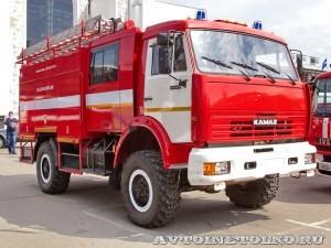 лесопожарная автоцистера АЦ 2,5-40 (43501) ВЛ Лесхозмаш на салоне Комплексная Безопасность 2013 - 2