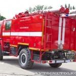 лесопожарная автоцистера АЦ 2,5-40 (43501) ВЛ Лесхозмаш на салоне Комплексная Безопасность 2013 - 3