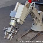 машина разминирования Искатель на салоне Комплексная Безопасность 2014 - 2
