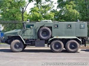 УралАЗ на салоне Комплексная Безопасность 2014 - 1
