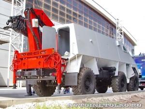 машина разминирования Искатель на салоне Комплексная Безопасность 2014 - 11