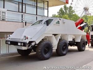 машина разминирования Искатель на салоне Комплексная Безопасность 2014 - 33