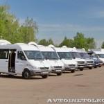 тест-драйв новых малотоннажников Mercedes-Benz в Крылатском 15 мая 2014 - 1