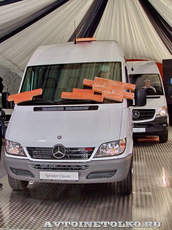 тест-драйв новых малотоннажников Mercedes-Benz в Крылатском 15 мая 2014 - 12