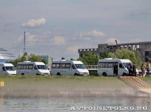 тест-драйв новых малотоннажников Mercedes-Benz в Крылатском 15 мая 2014 - 4