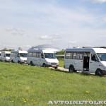 тест-драйв новых малотоннажников Mercedes-Benz в Крылатском 15 мая 2014 - 5