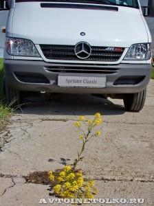 тест-драйв новых малотоннажников Mercedes-Benz в Крылатском 15 мая 2014 - 16