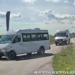 тест-драйв новых малотоннажников Mercedes-Benz в Крылатском 15 мая 2014 - 7