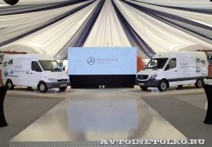 тест-драйв новых малотоннажников Mercedes-Benz в Крылатском 15 мая 2014 - 8