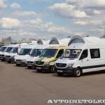 тест-драйв новых малотоннажников Mercedes-Benz в Крылатском 15 мая 2014 - 10