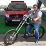 тест-драйв новых малотоннажников Mercedes-Benz в Крылатском 15 мая 2014 - 14