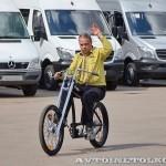 тест-драйв новых малотоннажников Mercedes-Benz в Крылатском 15 мая 2014 - 15