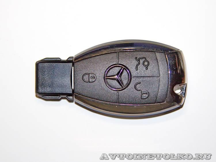 фирменная флешка компании Mercedes-Benz-5