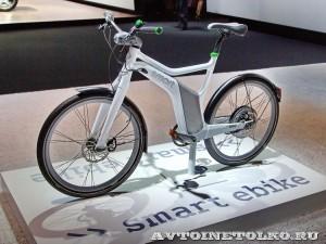 электровелосипед Smart e-bike на Московском Автосалоне ММАС 2012 - 1