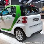 Легковой электромобиль Smart Fortwo Coupe Electric Drive на Московском Автосалоне ММАС 2012 - 1
