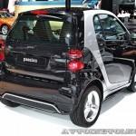 Легковой автомобиль Smart Fortwo Passion 62 KWt черный салон на Московском Автосалоне ММАС 2012 - 2