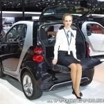 Легковой автомобиль Smart Fortwo Passion 62 KWt черный салон на Московском Автосалоне ММАС 2012 - 5