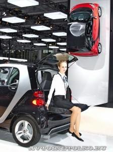 Smart на Московском Автосалоне ММАС 2012