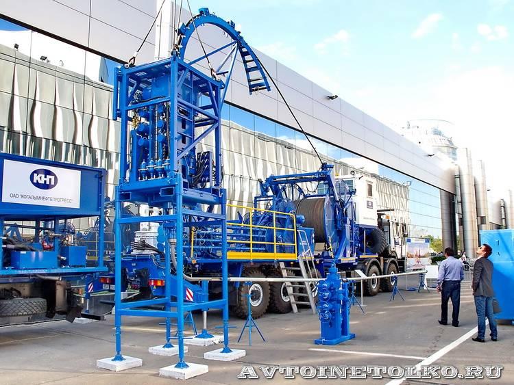 выставка Нефтегаз 2010