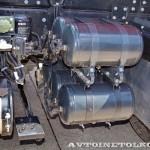Седельный тягач IVECO-АМТ 633910 на тест-драйве нового IVECO Trakker полигон НАМИ 2014 - 5