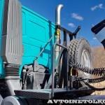 Седельный тягач IVECO-АМТ 633910 на тест-драйве нового IVECO Trakker полигон НАМИ 2014 - 6
