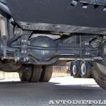 Самосвал IVECO-АМТ 653900 на тест-драйве нового IVECO Trakker полигон НАМИ 2014 - 1