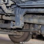 Автобетоносмеситель Tigarbo на шасси IVECO Trakker 8x4 на тест-драйве нового IVECO Trakker полигон НАМИ 2014 - 1