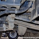 Автобетоносмеситель Tigarbo на шасси IVECO Trakker 8x4 на тест-драйве нового IVECO Trakker полигон НАМИ 2014 - 3